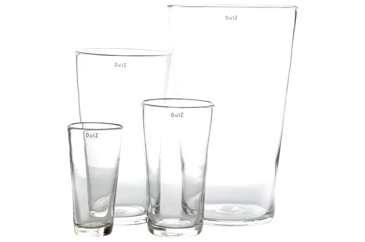 Conic Vase clear high