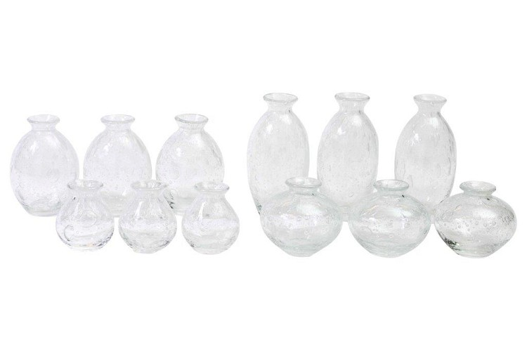 Set Nadiel clear bubbles