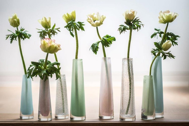 Vase Solifleur pale blue